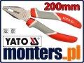 Szczypce uniwersalne kombinerki 200mm YATO 2008