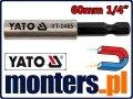 Uchwyt magnetyczny do grotów bitów 60mm YATO-0465