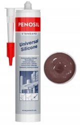 Silikon uniwersalny Penosil standard brązowy 310ml