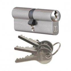 Wkładka bębenkowa do zamka drzw Medos 35/35 nikiel