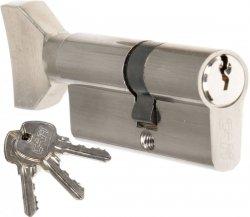 Wkładka z gałką CAM EKO 30/40 G nikiel zamka drzwi