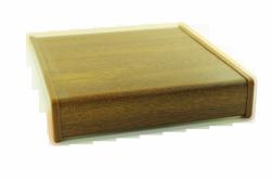 Parapet wewnętrzny plastikowy PCV złoty dąb 100mm 1mb
