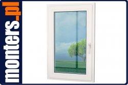 Okno PCV 1080x1420 EKOSUN UR lewe białe
