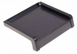 Parapet zewnętrzny stalowy blacha antracyt 250mm 1mb