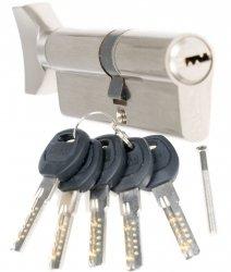 Wkładka z gałką CAM nawiercana 40/40G zamka drzwi