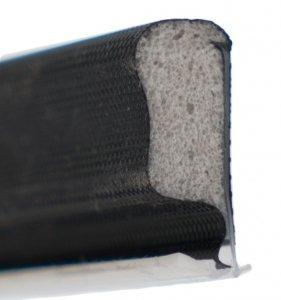 Uszczelka QLON QL3053 czarna do okien drewnianych drzwi