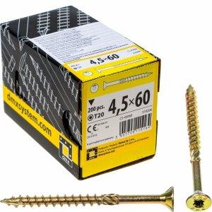 Wkręty ciesielskie TX 4,5x60 do drewna osb 200szt