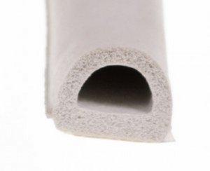 Uszczelka D 12x10 samoprzylepna biała (SD-54) 50m
