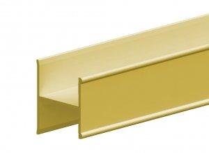 Profil łączący H ARES3 180cm z mocowaniami złoty