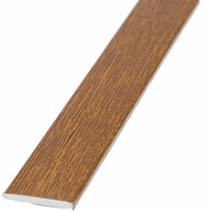 Płaskownik 30mm samoprzylepny złoty dąb 3m okienny