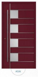 Drzwi wejściowe zewnętrzne Aluprof MB86 wzór AD26