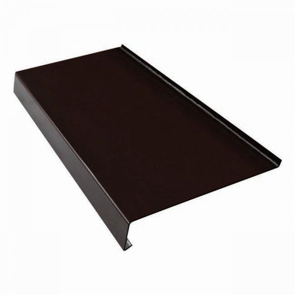 Parapet zewnętrzny stalowy blacha brąz 8019 200mm 1mb