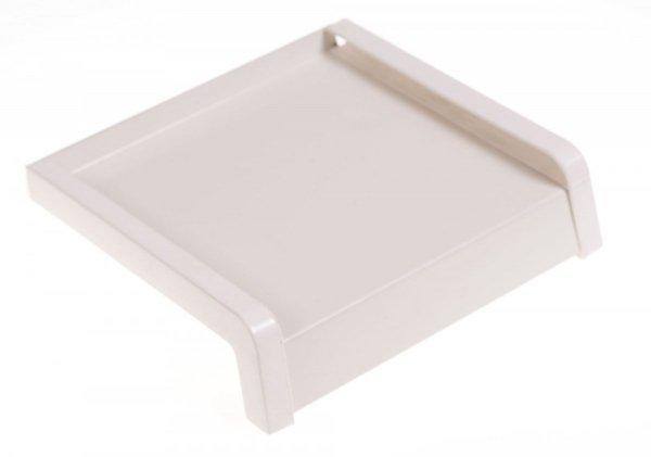 Parapet zewnętrzny stalowy blaszany biały 225mm 1mb