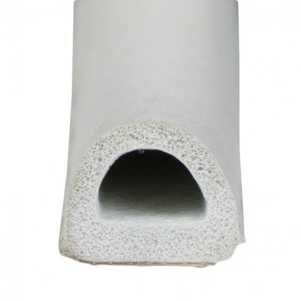 Uszczelka D 12x10 samoprzylepna biała (SD-54) 1m.