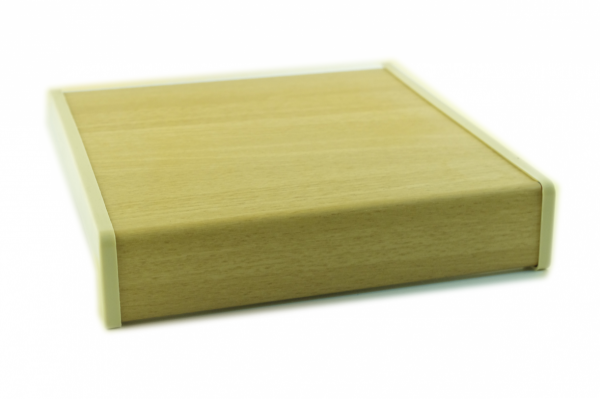 Parapet wewnętrzny plastikowy PCV olcha 100mm 1mb