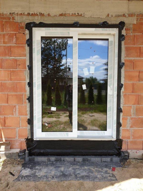 Taśma EPDM Pełny klej 25cm/20m folia membrana okna