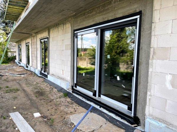 Taśma EPDM Pełny klej 40cm/20m folia membrana okna