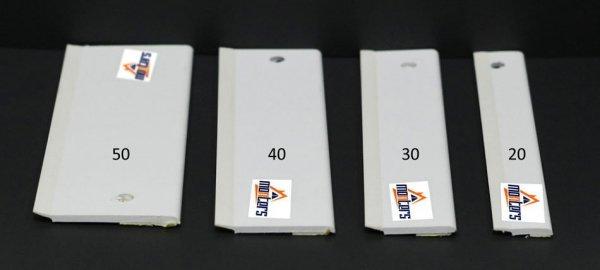 Płaskownik okienny przyl. uszczelka biały 3x240cm