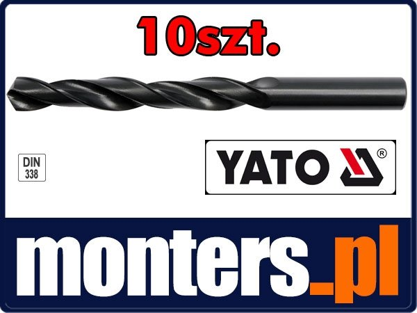 Wiertło do stali metalu hss 5mm YATO 4442 10szt