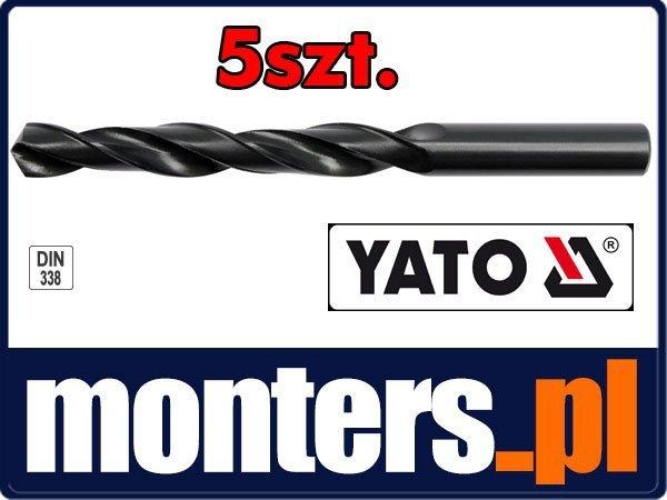 Wiertło do stali metalu hss 10mm YATO 4453 5szt