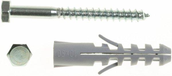 WX12+KL8X80/100 Kołek rozporowy WX+wkręt stożkowy