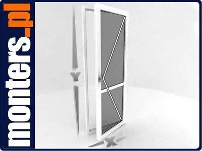 Drzwi balkonowe R 865x2295 prawe białe EKOSUN