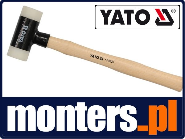 Yato Dead Blow Rubber Mallet 265 G Handle Hammer Woodwork Hammer Heavy Duty Vehicle Parts Accessories Garage Equipment Tools Easy and convenient to use. ong amigos de minas