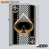 [ZIP-68] Unikat Zapalniczka Zippo™ Ace of Spades Brushed Chrome