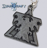 [CKY-14] StarCraft II™ Wings of Liberty Breloczek Logo Godło Terran Metal