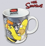 [MUG-03] The Simpsons™ Unikalny Kolorowy Kubek Homer Simpson Pracuje