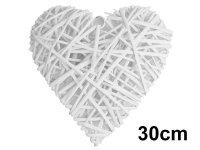 Serce Wiklinowe Duże 30cm [Komplet - 5 sztuk]