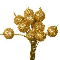 Owoc Jarzębiny Brokatowy Złoto Pik [Komplet 10 pęczków] 602918