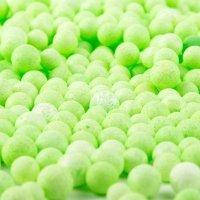 Kuleczki Styropianowe Zielone [Komplet 10 opakowań]