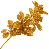 Jemioła Brokatowa Złoto [Komplet 5 sztuk] 602926