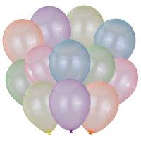 Balony Zestaw Mix Neon Transparent [Komplet - 4 opakowania]