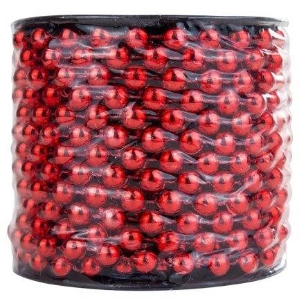 Korale na Szpuli Czerwień [Komplet 5 sztuk] 602921