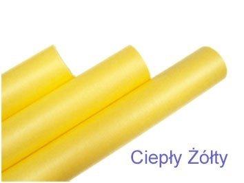 Flizelina Kolor Ciepły Żółty 50cm/9m [Zestaw - 10 sztuk]