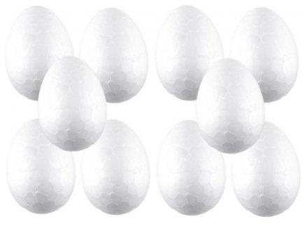 Jajka Styropianowe 4cm [Komplet - Zestaw 100sztuk]
