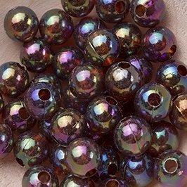Koraliki Perełki 8mm 10g Kolor Szary [ Zestaw - 50 Kompletów]
