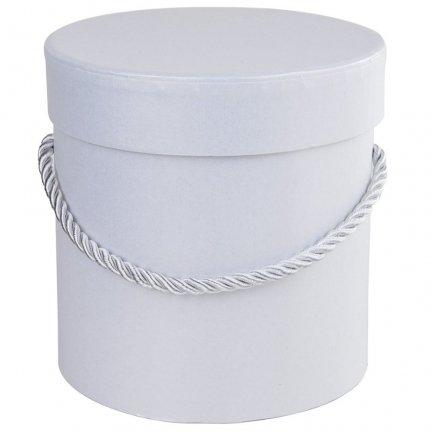 Flower Box Biały 12cm [Komplet 2 sztuki]