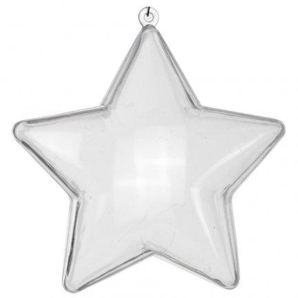Gwiazdka Akrylowa 12cm [Komplet 24szt]