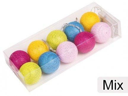 Cotton Balls Kolor Mix [Zestaw - 5 Kompletów]