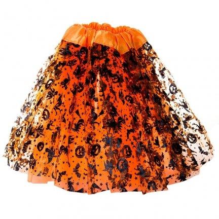 Spódniczka Halloween Pomarańcz [Komplet 5szt]