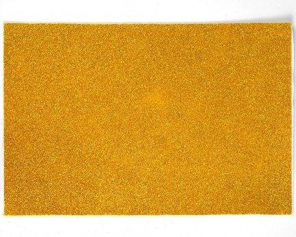 Pianka Brokatowa Bez Kleju Złota 10 sztuk [Zestaw - 10 Kompletów]