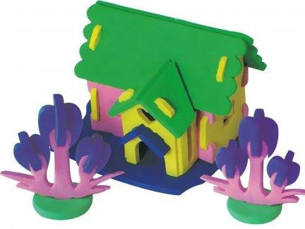 Zestaw Domek 3D Mały 2 [komplet 10 sztuk]