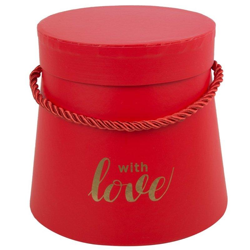 Flower Box With Love Czerwony Mały
