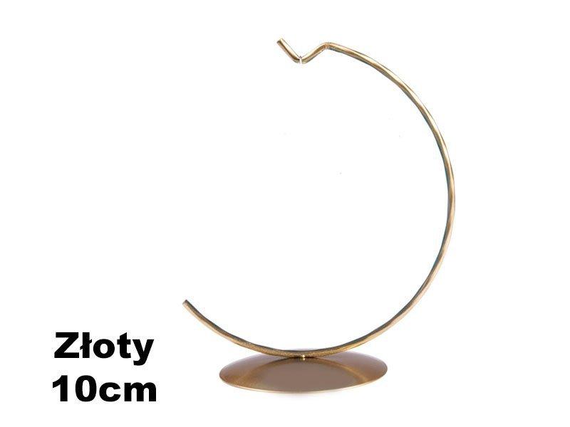 Stojaki Pełne Złote na Bombkę 10cm [Komplet - 20 Sztuk]