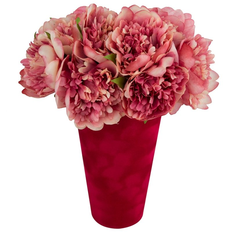 Flower Box Wysoki Zmaszowy Czerwony 2
