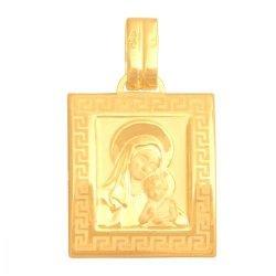 Medalik złoty 585 - Mv024
