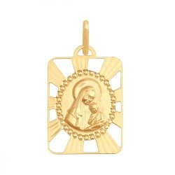 Medalik złoty 585 - 30606